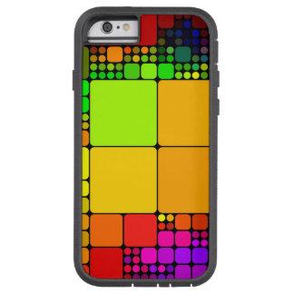 Ejemplo colorido del modelo funda de iPhone 6 tough xtreme