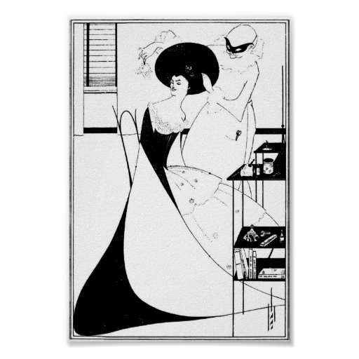 Ejemplo de Aubrey Beardsley Salome Poster