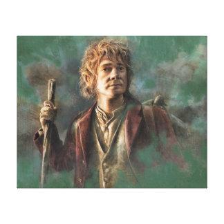 Ejemplo de Bilbo Impresión En Lona Estirada