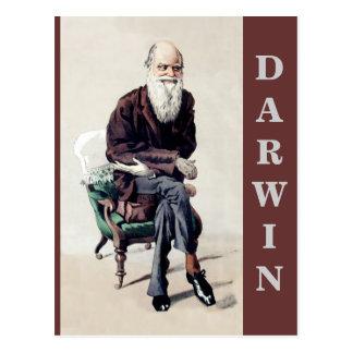 Ejemplo de Charles Darwin Vanity Fair Postal