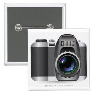 Ejemplo de Digitaces de la cámara digital Pin Cuadrada 5 Cm