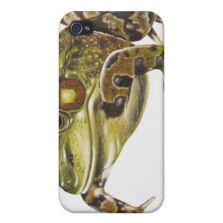 Ejemplo de Digitaces de la rana verde iPhone 4/4S Carcasa