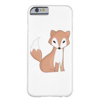Ejemplo de Digitaces de un Fox lindo Funda De iPhone 6 Barely There