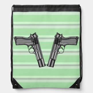Ejemplo de dos pistolas mochila