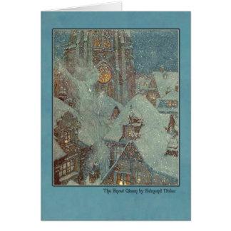 Ejemplo de Edmund Dulac de la reina de la nieve Tarjetas