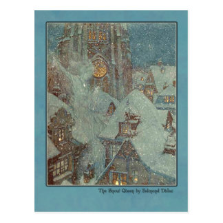 Ejemplo de Edmund Dulac de la reina de la nieve Postales