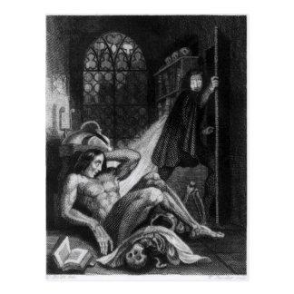 Ejemplo de 'Frankenstein Tarjeta Postal