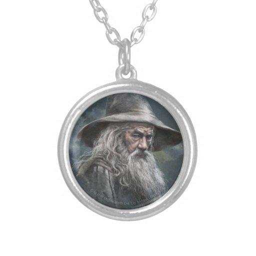 Ejemplo de Gandalf Colgante Redondo
