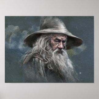 Ejemplo de Gandalf Póster