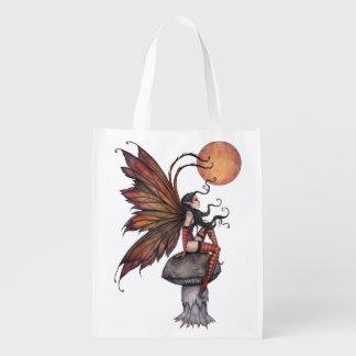 Ejemplo de hadas del arte de la fantasía del otoño bolsas para la compra