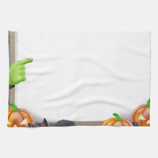 Ejemplo de Halloween Toallas De Cocina