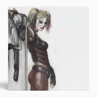 """Ejemplo de Harley Quinn Carpeta 1 1/2"""""""