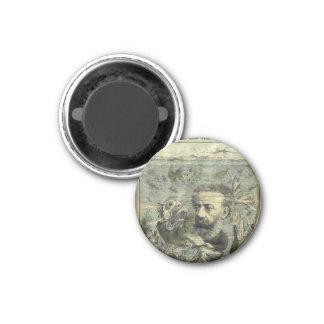 Ejemplo de Jules Verne Algerie Imán Redondo 3 Cm