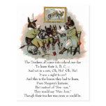 Ejemplo de la antigüedad de la escuela del burro postal
