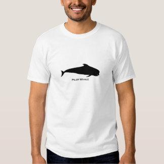Ejemplo de la ballena experimental (blackfish) remera