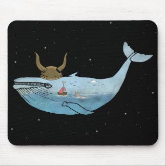 Ejemplo de la ballena tapete de ratón