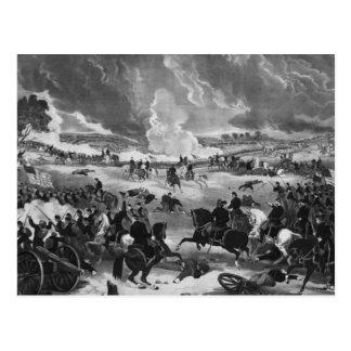 Ejemplo de la batalla de Gettysburg Postal