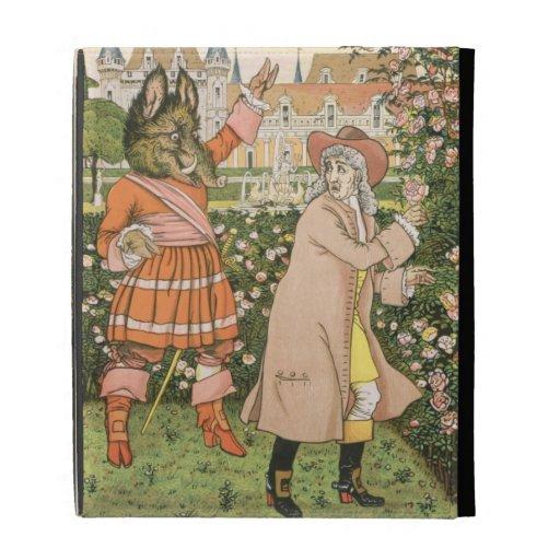 Ejemplo de la belleza y de la bestia, 1901 (colo