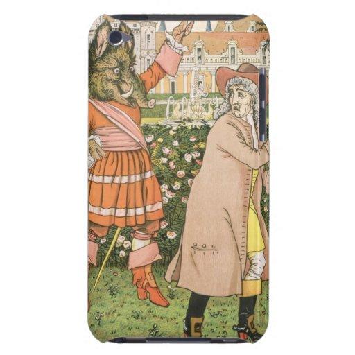 Ejemplo de la belleza y de la bestia, 1901 (colo iPod touch cárcasa