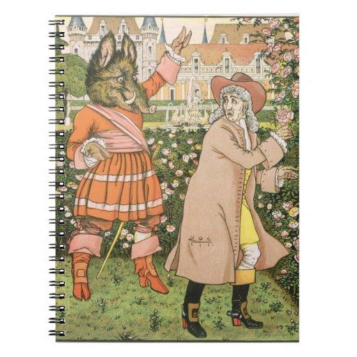 Ejemplo de la belleza y de la bestia, 1901 (colo libros de apuntes
