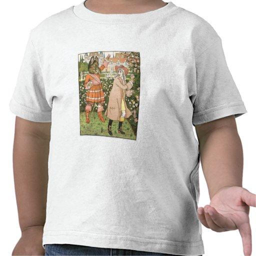 Ejemplo de la belleza y de la bestia, 1901 (colo camiseta