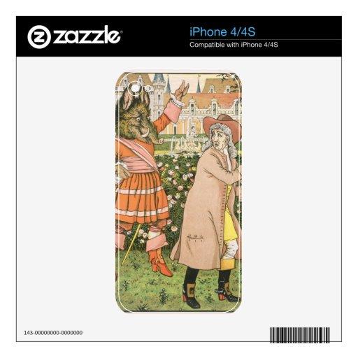 Ejemplo de la belleza y de la bestia, 1901 (colo skin para el iPhone 4S