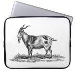 Ejemplo de la cabra nacional del vintage - cabras  manga portátil