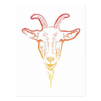 ejemplo de la cabra postal