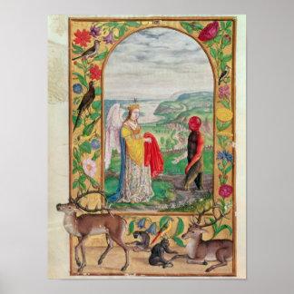 Ejemplo de la cuarta parábola póster