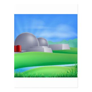 Ejemplo de la energía de la energía atómica postal
