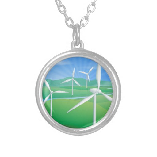 Ejemplo de la energía de la energía eólica grimpolas