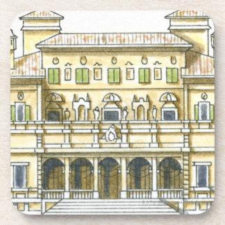 Ejemplo de la fachada del Galleria del siglo XVII Posavaso