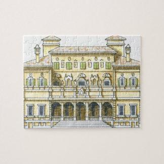 Ejemplo de la fachada del Galleria del siglo XVII Rompecabeza Con Fotos