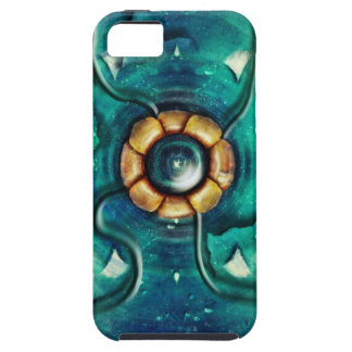 ejemplo de la flor del espacio iPhone 5 funda