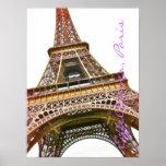 Ejemplo de la foto de la torre Eiffel Posters