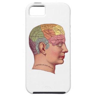Ejemplo de la función del cerebro del vintage iPhone 5 cárcasas
