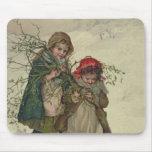 Ejemplo de la hada del árbol de navidad, pub. 1886 alfombrilla de ratones