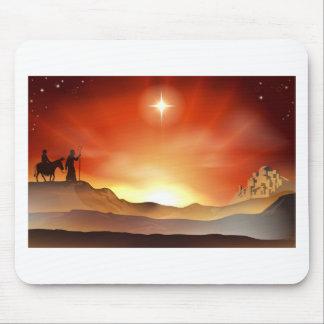 Ejemplo de la historia del navidad de la natividad tapetes de ratones