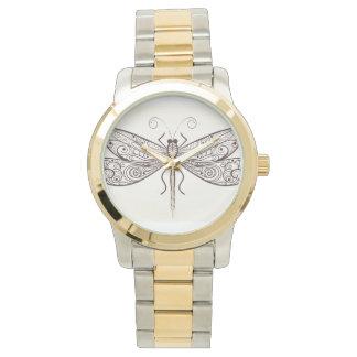 Ejemplo de la libélula relojes de pulsera
