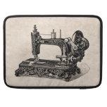 Ejemplo de la máquina de coser de los 1800s del funda para macbooks