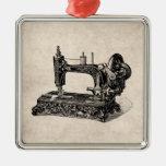 Ejemplo de la máquina de coser de los 1800s del vi adorno de navidad