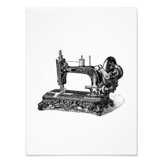 Ejemplo de la máquina de coser de los 1800s del vi impresion fotografica
