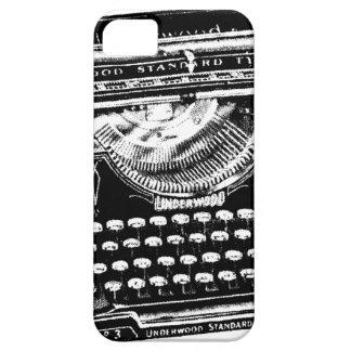 Ejemplo de la máquina de escribir del vintage iPhone 5 carcasa