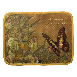 Ejemplo de la mariposa del estilo del vintage organizadores