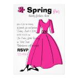 Ejemplo de la moda del Fling de la primavera