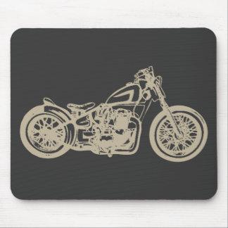 Ejemplo de la motocicleta del vintage alfombrilla de ratones