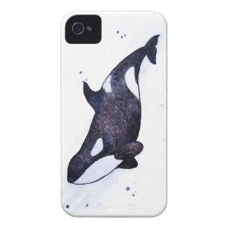 Ejemplo de la orca de la orca carcasa para iPhone 4 de Case-Mate