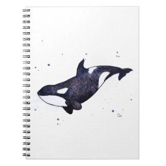 Ejemplo de la orca de la orca spiral notebook