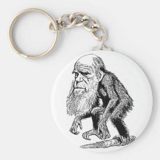 Ejemplo de la original de Charles Darwin Llavero Redondo Tipo Pin