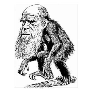 Ejemplo de la original de Charles Darwin Postal